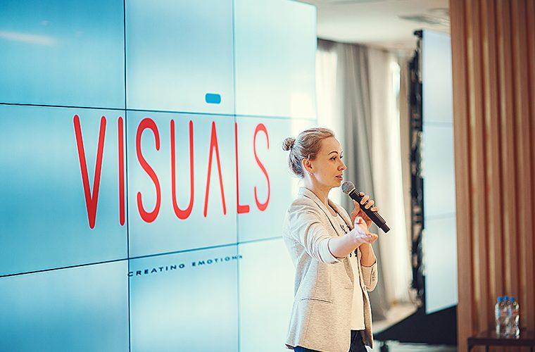 Руководитель Лаборатории Визуальных Решений Наталья Тарсиа
