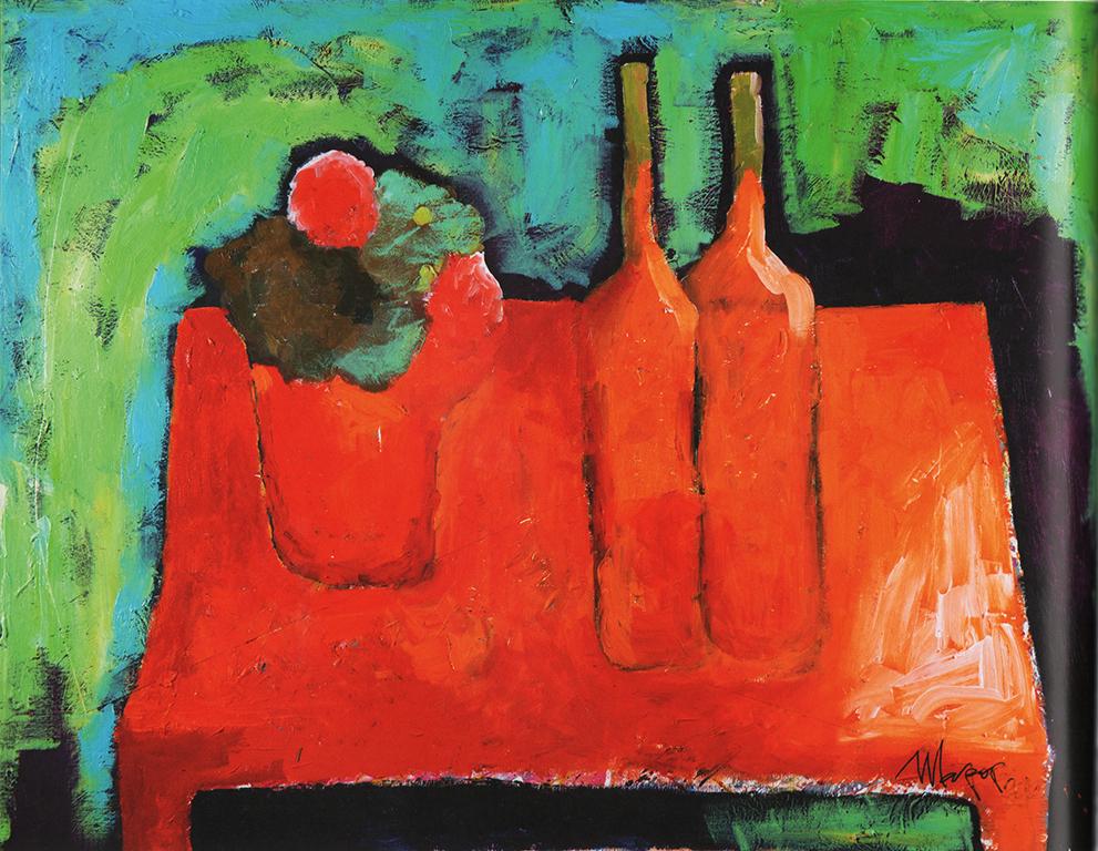 Красные бутылки, 2012