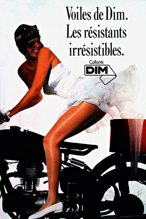 Секс и эротика в рекламе DIM