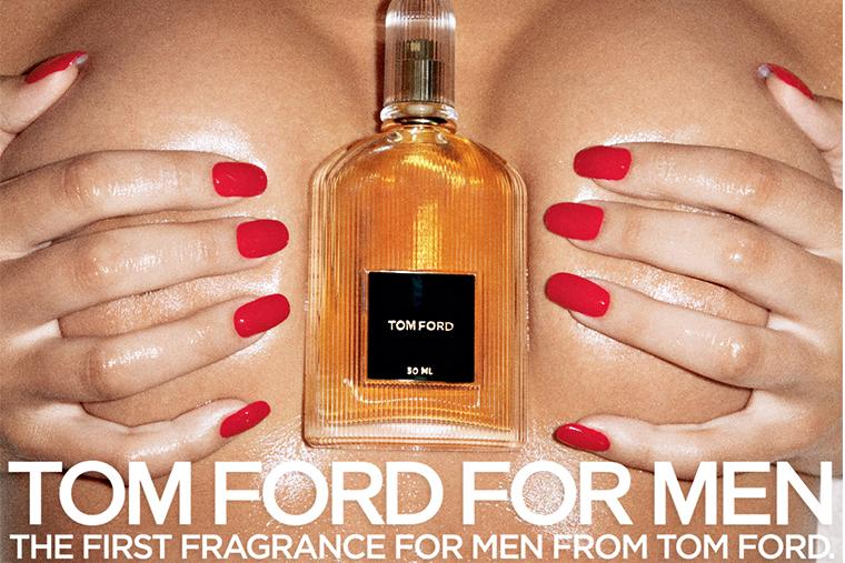 Секс и эротика в рекламе Tom Ford
