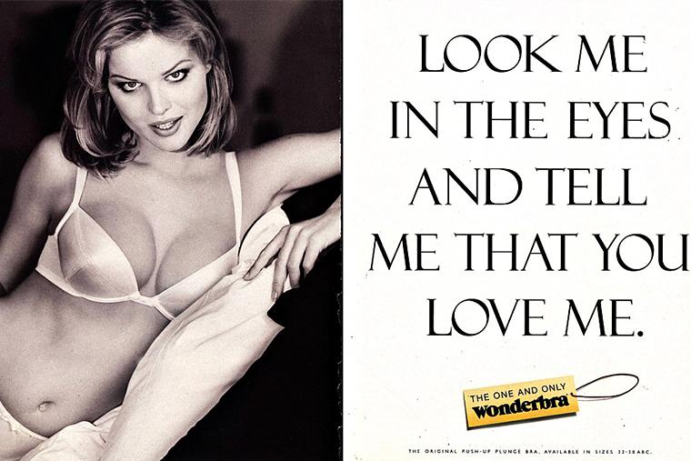 Секс и эротика в рекламе Wonderbra