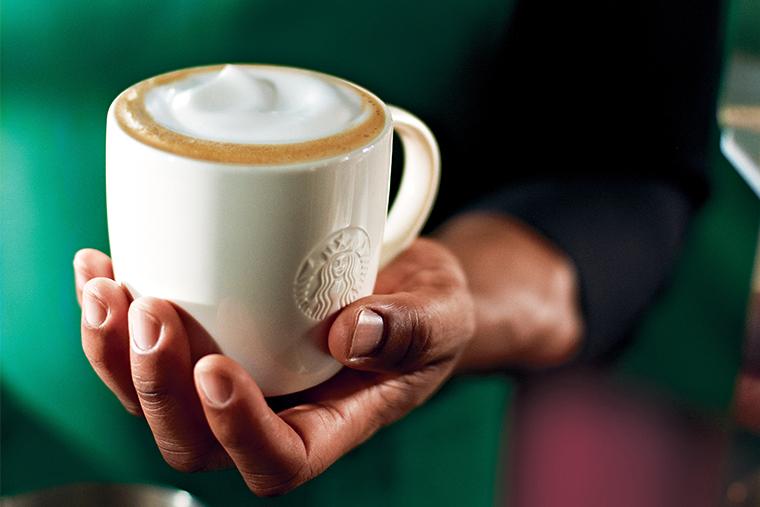 Starbucks, новая кофейня, питер