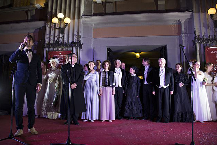 Театр Вахтангова, закрытие сезона