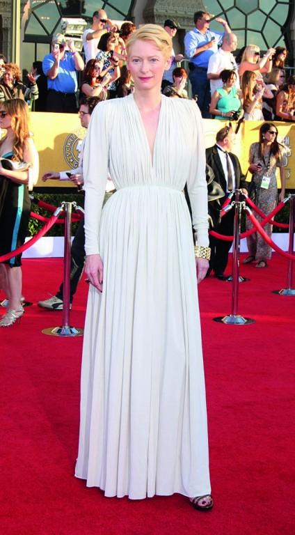 at the 18th Annual Screen Actors Guild Awards Arrivals, Shrine Auditorium, Los Angeles, CA 01-29-12