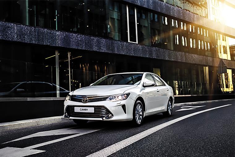 Toyota Camry жажда драйва парк горького