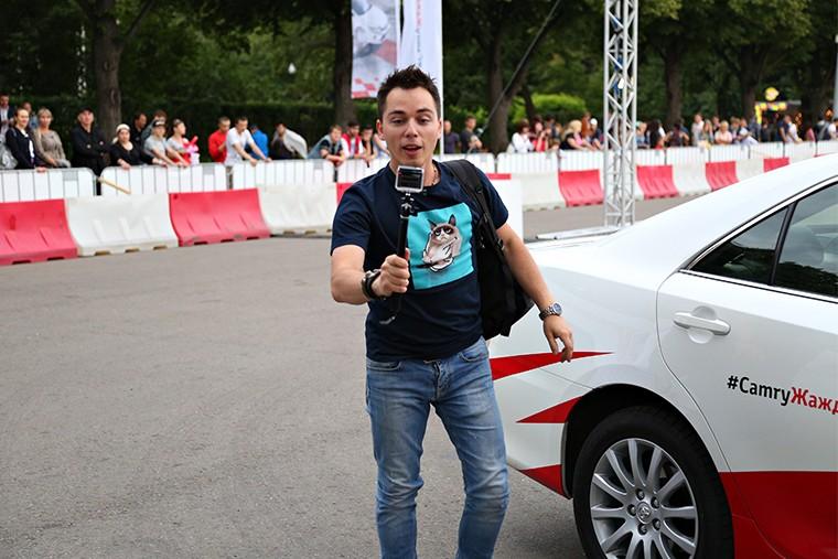 Toyota Camry жажда драйва парк горького in5