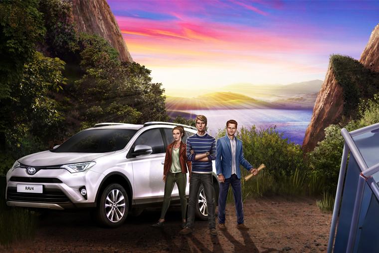 Toyota онлайн-квест in