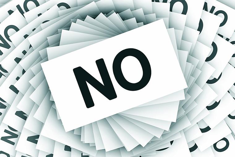 Учись сказать нет in