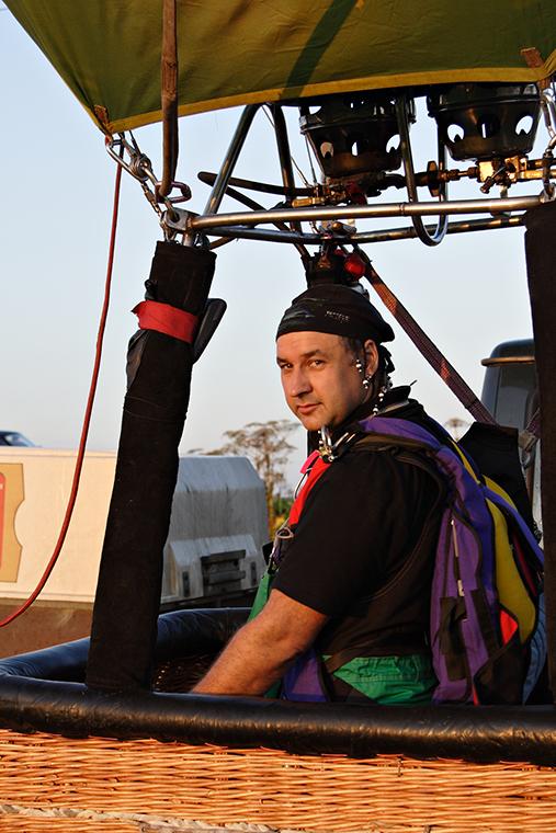 Воздухоплаватель Михаил Баканов
