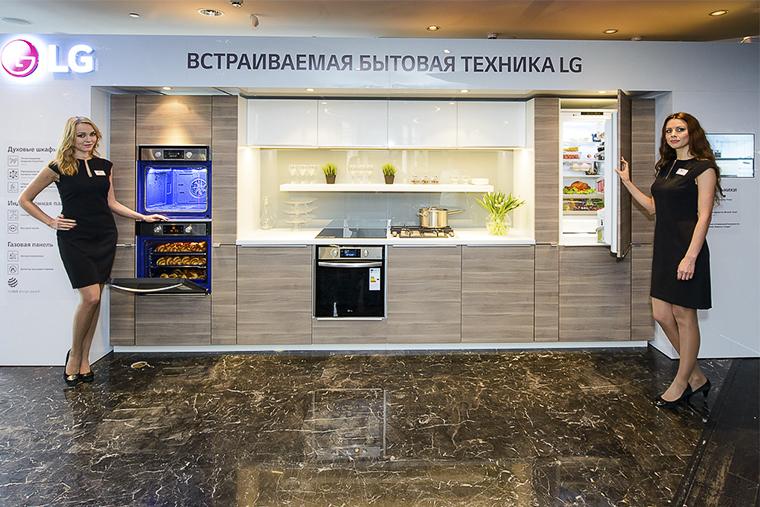 компания lg, встраиваимая техника, встраиваемый духовой шкаф, встраиваемый холодильник, встраиваемые индукционные и газовые варочные панели