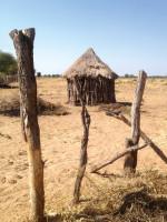 Типичное африканское жилище, Замбия