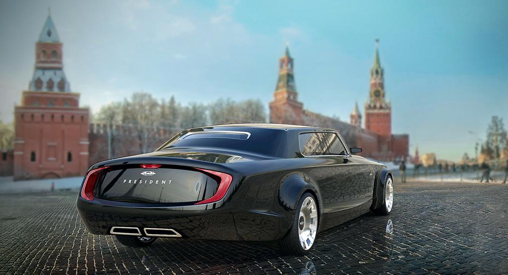 Проект Ярослава Яковлева и Бернарда Вилла для конкурса «Автомобиль для президента»