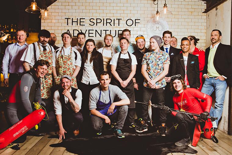 Участники финала конкурса The Mamont Mission II