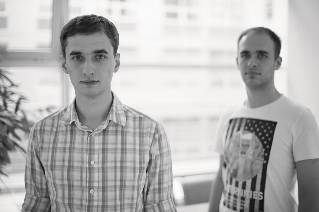Артем Елмуратов и Валерий Ильинский