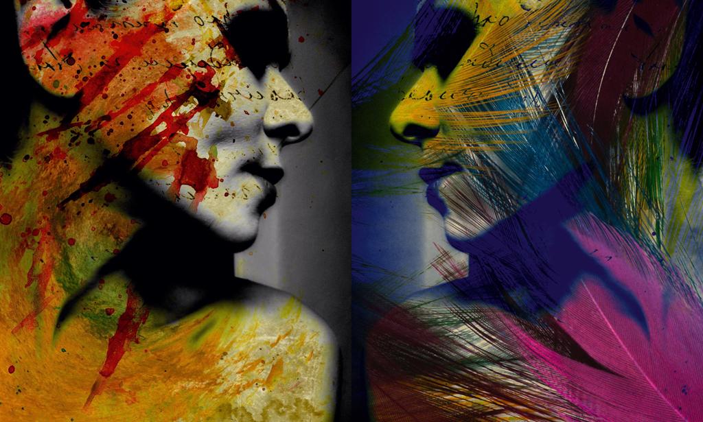 Грязные помыслы хуже чем грязное лицо в сотни раз, 2012 (автопортрет)