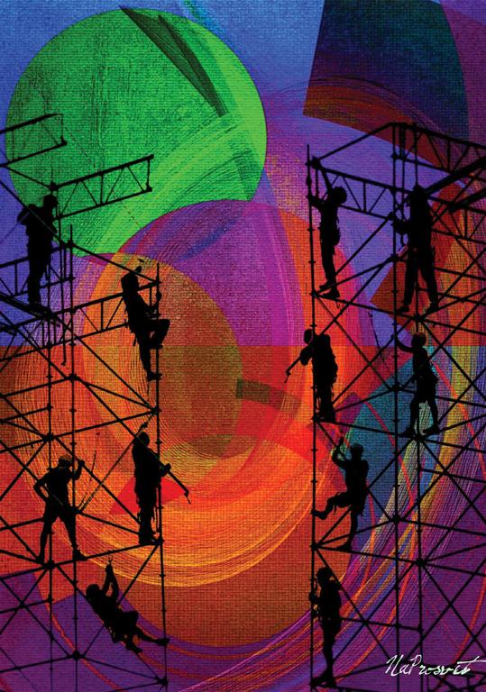 «Разница между творчеством и строительством: сконструированную вещь можно любить только, когда она готова; но плод творчества любят даже если он еще не существует» Ч. Диккенс