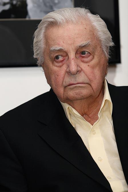 Режиссер Юрий Любимов, Москва, 25 января 2008.