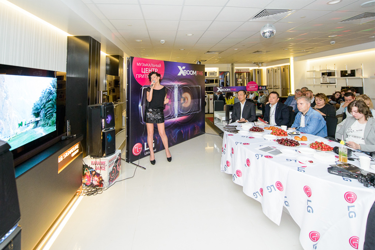 музыкальный центр LG X-BOOM FH6 _1 in