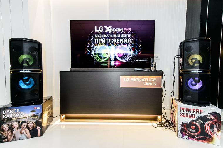музыкальный центр LG X-BOOM FH6 in