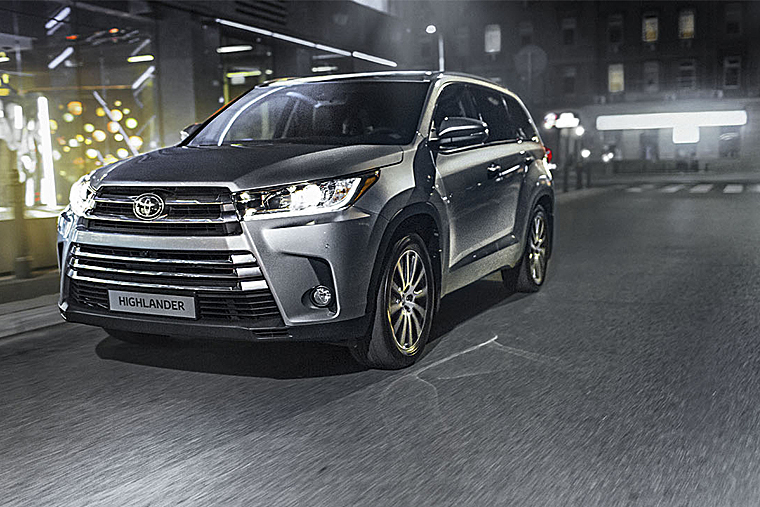 новый Toyota Highlander in
