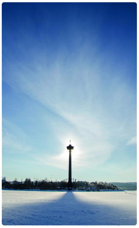Символ города — обзорная башня Нясиннеула