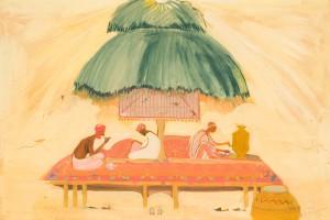tea wine poetry chaikhana