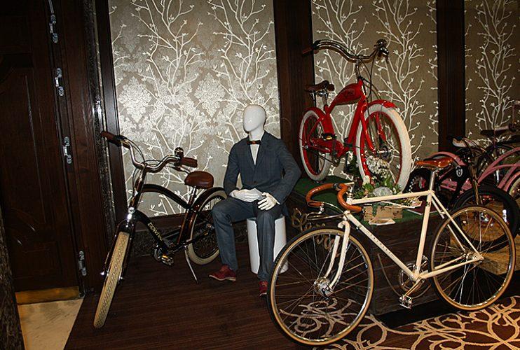 выставка Gentlemen's Life велосипеды